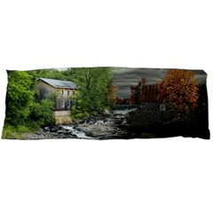 Landscape Summer Fall Colors Mill Body Pillow Case Dakimakura (two Sides)