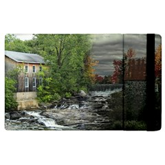 Landscape Summer Fall Colors Mill Apple Ipad 3/4 Flip Case