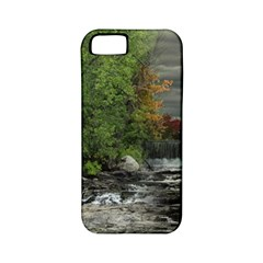 Landscape Summer Fall Colors Mill Apple Iphone 5 Classic Hardshell Case (pc+silicone)