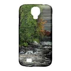 Landscape Summer Fall Colors Mill Samsung Galaxy S4 Classic Hardshell Case (pc+silicone)