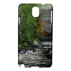 Landscape Summer Fall Colors Mill Samsung Galaxy Note 3 N9005 Hardshell Case