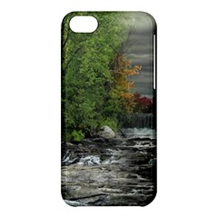 Landscape Summer Fall Colors Mill Apple Iphone 5c Hardshell Case