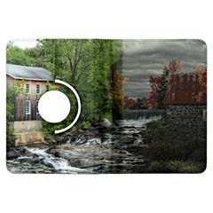 Landscape Summer Fall Colors Mill Kindle Fire Hdx Flip 360 Case