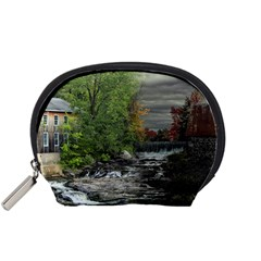 Landscape Summer Fall Colors Mill Accessory Pouches (small)