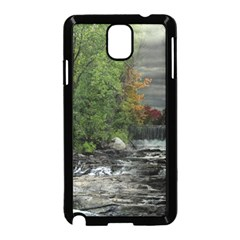 Landscape Summer Fall Colors Mill Samsung Galaxy Note 3 Neo Hardshell Case (black)