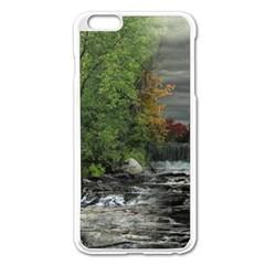 Landscape Summer Fall Colors Mill Apple Iphone 6 Plus/6s Plus Enamel White Case