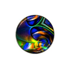 Light Texture Abstract Background Hat Clip Ball Marker (4 Pack)