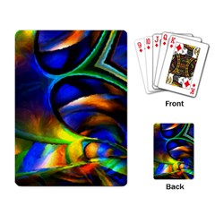 Light Texture Abstract Background Playing Card