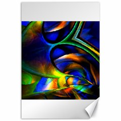 Light Texture Abstract Background Canvas 24  X 36