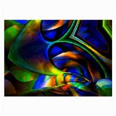 Light Texture Abstract Background Large Glasses Cloth (2 Side)