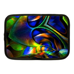 Light Texture Abstract Background Netbook Case (medium)