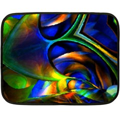Light Texture Abstract Background Double Sided Fleece Blanket (mini)