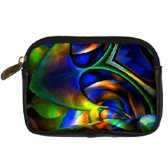 Light Texture Abstract Background Digital Camera Cases