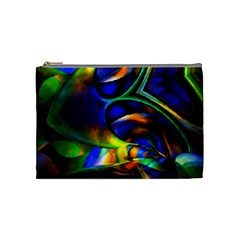 Light Texture Abstract Background Cosmetic Bag (Medium)
