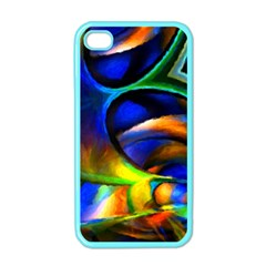 Light Texture Abstract Background Apple Iphone 4 Case (color)