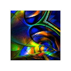 Light Texture Abstract Background Acrylic Tangram Puzzle (4  X 4 )
