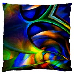 Light Texture Abstract Background Large Cushion Case (two Sides)