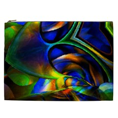 Light Texture Abstract Background Cosmetic Bag (xxl)