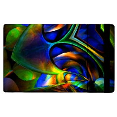 Light Texture Abstract Background Apple Ipad 3/4 Flip Case