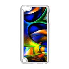 Light Texture Abstract Background Apple Ipod Touch 5 Case (white)