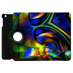 Light Texture Abstract Background Apple Ipad Mini Flip 360 Case