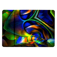 Light Texture Abstract Background Samsung Galaxy Tab 10 1  P7500 Flip Case