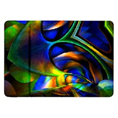 Light Texture Abstract Background Samsung Galaxy Tab 8 9  P7300 Flip Case