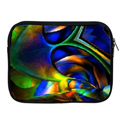 Light Texture Abstract Background Apple Ipad 2/3/4 Zipper Cases
