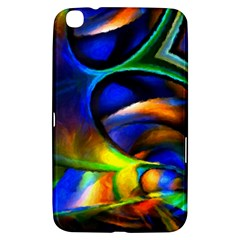 Light Texture Abstract Background Samsung Galaxy Tab 3 (8 ) T3100 Hardshell Case