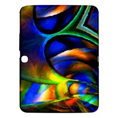 Light Texture Abstract Background Samsung Galaxy Tab 3 (10 1 ) P5200 Hardshell Case