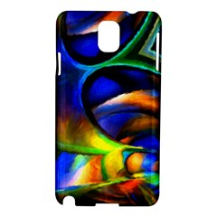 Light Texture Abstract Background Samsung Galaxy Note 3 N9005 Hardshell Case