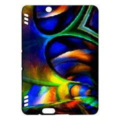 Light Texture Abstract Background Kindle Fire Hdx Hardshell Case