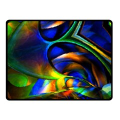 Light Texture Abstract Background Double Sided Fleece Blanket (small)