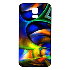 Light Texture Abstract Background Samsung Galaxy S5 Back Case (white)
