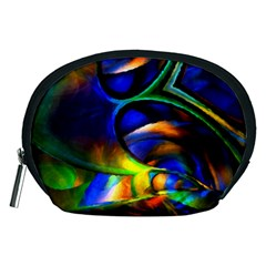 Light Texture Abstract Background Accessory Pouches (medium)