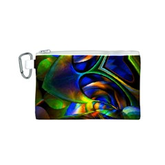 Light Texture Abstract Background Canvas Cosmetic Bag (s)