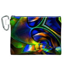 Light Texture Abstract Background Canvas Cosmetic Bag (xl)