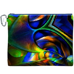 Light Texture Abstract Background Canvas Cosmetic Bag (xxxl)