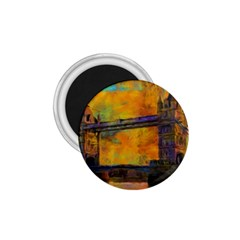 London Tower Abstract Bridge 1.75  Magnets