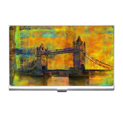 London Tower Abstract Bridge Business Card Holders