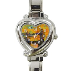London Tower Abstract Bridge Heart Italian Charm Watch
