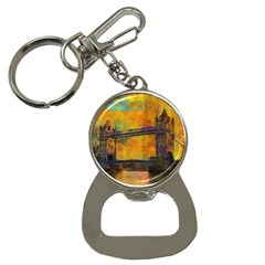 London Tower Abstract Bridge Button Necklaces