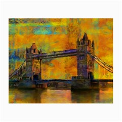 London Tower Abstract Bridge Small Glasses Cloth (2 Side)
