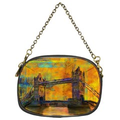 London Tower Abstract Bridge Chain Purses (one Side)