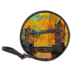 London Tower Abstract Bridge Classic 20 Cd Wallets