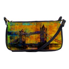 London Tower Abstract Bridge Shoulder Clutch Bags