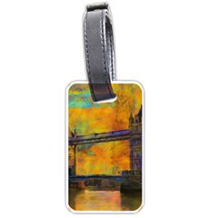 London Tower Abstract Bridge Luggage Tags (one Side)