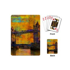 London Tower Abstract Bridge Playing Cards (mini)
