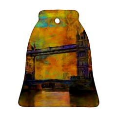 London Tower Abstract Bridge Ornament (bell)