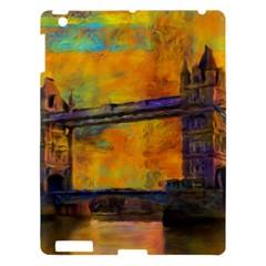 London Tower Abstract Bridge Apple Ipad 3/4 Hardshell Case